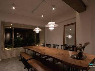 다이닝룸 - 전주인테리어 상가주택 인테리어 30평 인테리어 - 위크앤드 -: 디자인투플라이의  다이닝 룸,북유럽