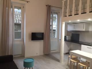 Studio de 28 m2 dans un immeuble Haussmannien par INVESTIS CONSEIL
