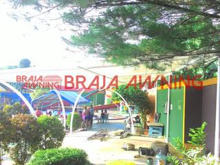 Braja Awning & Canopy GartenAccessoires und Dekoration Eisen/Stahl Weiß