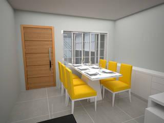 Residencia dos sonhos Salas de jantar modernas por BATISTA & ROCCA projeto gerenciamento consultoria e construções Moderno
