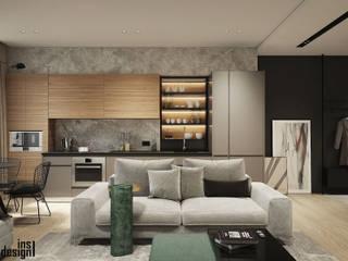 Y.F.architects Cocinas de estilo minimalista