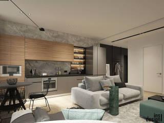 Cocinas minimalistas de Y.F.architects Minimalista