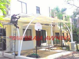 Braja Awning & Canopy Garage/Schuppen Kunststoff Weiß