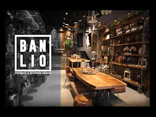 Banlio Mimarlık Mobilya ve Dekorasyon Tic. Ltd. Şti. BANLIO DESIGN Endüstriyel