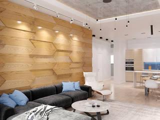 Living room by metrixdesign, Minimalist