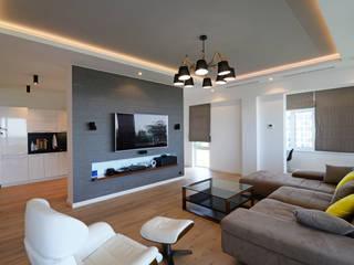 Living room by metrixdesign, Modern