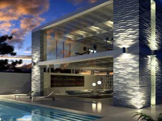 Project 2 Modern pool by Keha Casa Modern