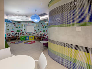 Cresta Shopping Mall Baby Change Facilities by Spegash Interiors Modern