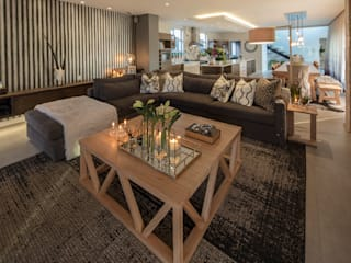: country Living room by Spegash Interiors
