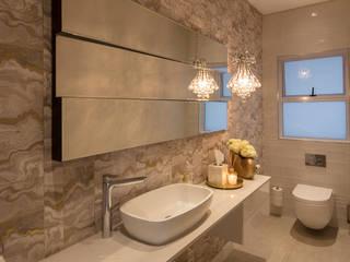 Salle de bain rurale par Spegash Interiors Rural