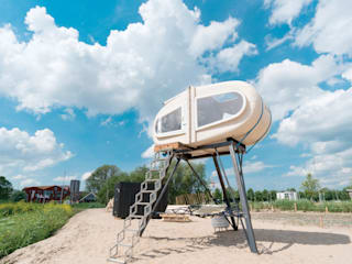 Sleeping Pod :  Slaapkamer door Studio Made By