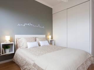 Remodelação de T2 para Airbnb Quartos modernos por MP Architecture & Interior Design Moderno