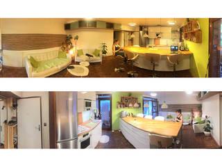 Remise a neuf appartement 65m2 années 60:  de style  par Daphnis Fournier
