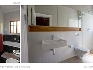 Before and After Photos _ Oranjezicht Residence :   by Kunst Architecture & Interiors,