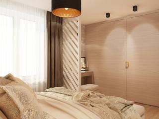 Теплое Гнездышко: Спальни в . Автор – ivonindesign,