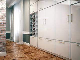 Кабинет в частном доме: Рабочие кабинеты в . Автор – ivonindesign,