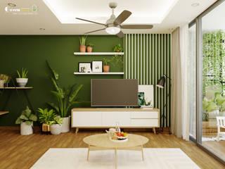 غرفة السفرة تنفيذ Green Interior