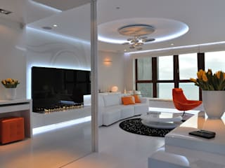 Fire Line Automatic at the Sea Tower in Gdynia: modern  by S. T. Unicom Pvt. Ltd. ,Modern