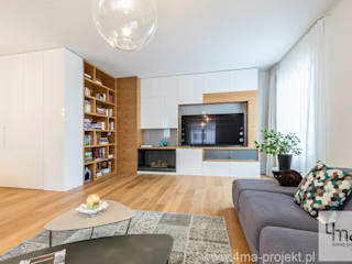 Modern living room by 4ma projekt Modern