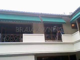 Braja Awning & Canopy Balkon, Veranda & TerrasseAccessoires und Dekoration Textil Grün