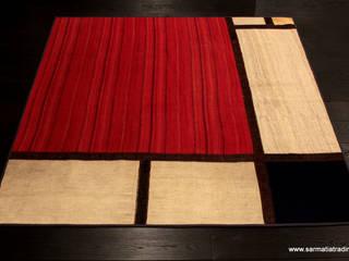 Mondrian Kilim Patchwork: styl , w kategorii  zaprojektowany przez Sarmatia Trading
