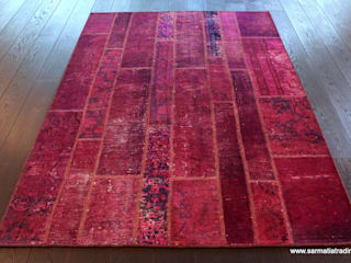 Purple Haze Patchwork: styl , w kategorii  zaprojektowany przez Sarmatia Trading