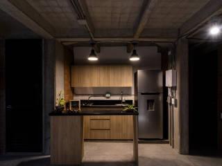 EDIFICIO 80 - 19: Cocinas de estilo  por PLANTA BAJA ESTUDIO DE ARQUITECTURA, Moderno