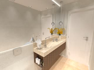 Residência SS Banheiros clássicos por IZI HOME Interiores Clássico
