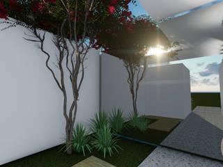 Jardines de invierno de estilo tropical de Gislene Soeiro Arquitetura e Interiores Tropical