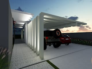 Tropikal Garaj / Hangar Gislene Soeiro Arquitetura e Interiores Tropikal