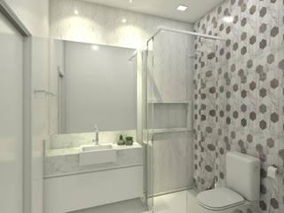 Reforma da Casa - D21: Banheiros  por Kamila Andrade - Arquiteta e Urbanista