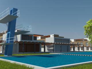 de Bustos + Quintero arquitectos Moderno