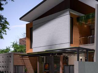 ARKAStudio Single family home Bricks Orange