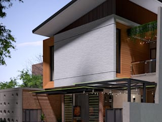 ARKAStudio บ้านเดี่ยว อิฐหรือดินเผา Orange