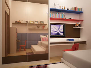Mrs. Joyce Kemang Kamar Bayi/Anak Modern Oleh Budi Setiawan Design Studio Modern