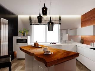 ДизайнМастер Modern style kitchen Brown