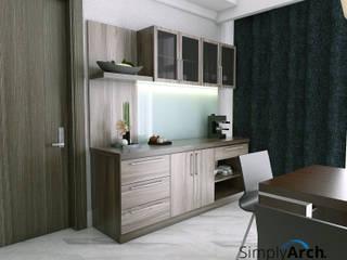 A-Apartment at Botanica Apartment, Simprug - South Jakarta: Dapur oleh Simply Arch.,