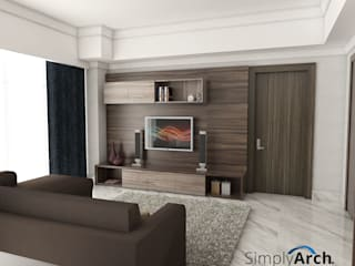 Living room by Simply Arch., Modern