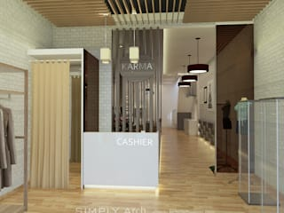 Concept Design for Commercial Project at Green Lake City:  oleh Simply Arch.,