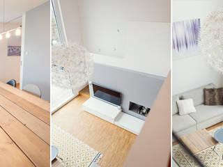 Modern living room by Celia Kunst_Architektur und Raumplanungen Modern