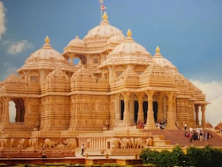Akshardham Temple: eclectic  by CICO Group - Top Construction Chemicals manufacturers in india,Eclectic