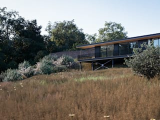 Badger's Keep Brown + Brown Architects Single family home Wood
