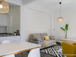by custom casa home staging Scandinavian