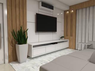 Wohnzimmer von Camila Ribeiro   Arquitetura & Interiores