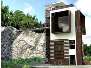 Vivienda unifamiliar: Casas unifamiliares de estilo  por Arq. Yofrank Diaz