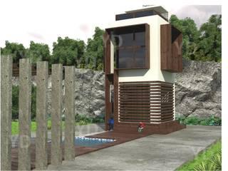 Vivienda unifamiliar: Casas de estilo  por Arq. Yofrank Diaz
