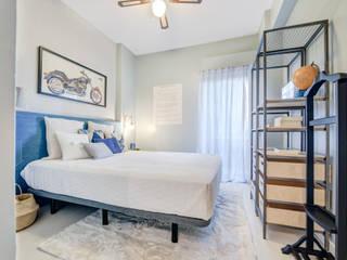 Santiago | Interior Design Studio Industrial style bedroom