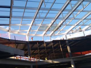 DOMO DE CRISTAL Centros comerciales de estilo moderno de Grupo Boru Hatti Moderno