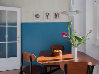 Industrial style dining room by VINTAGENCY Industrial