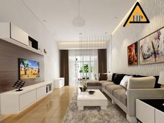 CTY KIẾN TRÚC VÀ NỘI THẤT HP-HOUSE Salas modernas